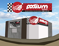 Identidade Visual Podium Motos
