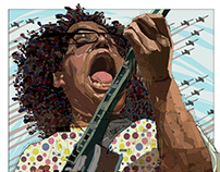 Alabama Shakes front-gal, Brittany Howard