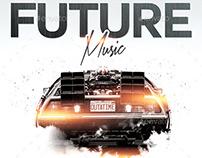 Future Music | Flyer PSD Template