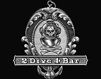 2 Dive 4 Logomark Illustrated by Steven Noble