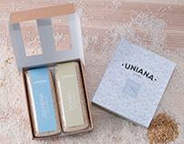 Marca y Packaging Uniana