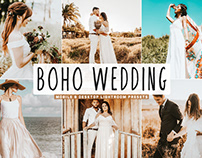 Free Boho Wedding Mobile & Desktop Lightroom Presets