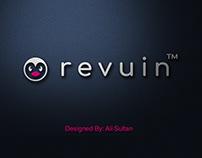 Revuin Logo Design