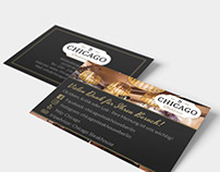 Business Card for Chicago Steakhouse