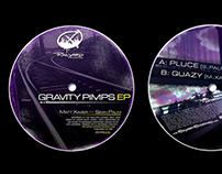 Railyard - Vinyl Record Label Design