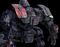 Uprising : Robot texturing