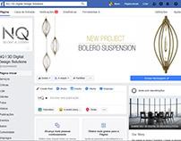 NQ 3D DIGITAL DESIGN LOGO and FACEBOOK PAGE