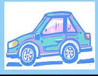 POSCA #3 (CARS)