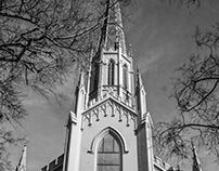 Shadows on First Presbyterian Church