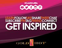 Social Media Ad for Gold N' Hot