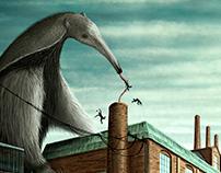 Giant Anteater - illustration