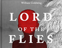 Book Cover Design - Lord of The Flies