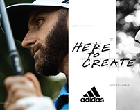 Adidas Golf Imagery 2019