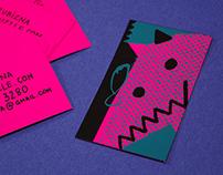 Long Muzzle business cards