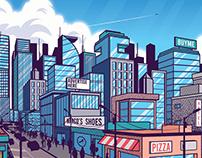 City Cover Illustration