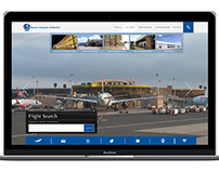 Kenya Airport Authority Website Redesign concept