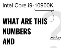 What is intel numbers?