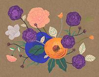 Collage Floral Bouquet
