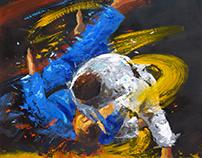 Sport paintings 2017