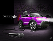 Kid Trax, Kia SOUL Licensed 12 Volt Ride On Sing Along.