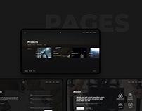 web site - Montage video