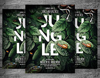 Jungle Flyer Template