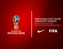 Nike FIFA World Cup Russia 2018 Concept Jerseys