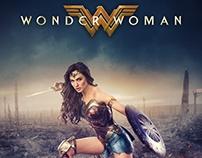 Wonder Woman fan movie poster