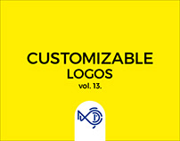 Customizable logos for sale vol. 13.