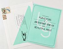 Let's Make Beautiful Print Together Brochure
