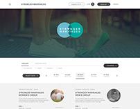 WEB APP Re-design - UI Design