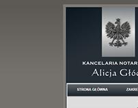 A notary website design