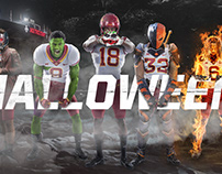 2018 Iowa State Football Halloween