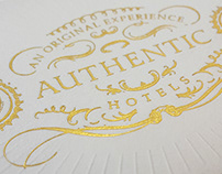 Authentic Hotel - Branding