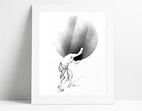Illustrations for Books / Hand Drawing
