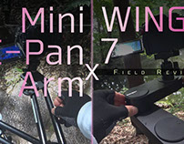 Mini C-Pan Arm x WING 7 Slider Field Review in Japan