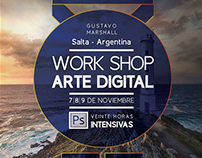 Poster de Work Shop Gustavo Marshall
