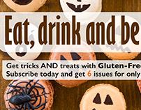 Gluten-Free Living Magazine Web Ads