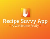 Recipe Nutrition App