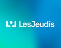 LesJeudis.com — Branding et site