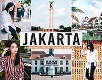 Free Jakarta Mobile & Desktop Lightroom Presets