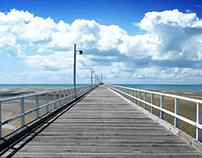 Jetty - Hervey Bay- Australia