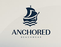 Anchored Beachwear Rebrand
