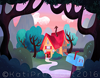 Little House Painting