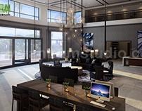 Attractive Hotel Lobby - Waiting Area Design Ideas
