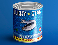 Lucky Star (packaging redesign)