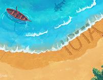 IOTA Ocean Illustration