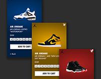Air Jordans Mobile App