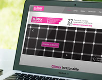 Climax Irrazonable - Responsive Website