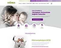 Hüma Tüp Bebek Merkezi Website